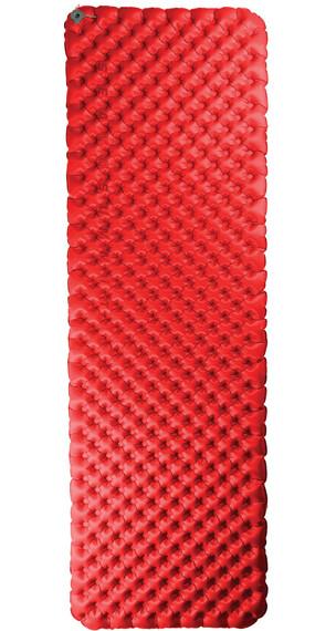 Sea to Summit Comfort Plus Insulated Mat Rectangular L Red